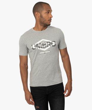 Tee-shirt homme imprimé à manches courtes - Umbro vue2 - UMBRO - GEMO