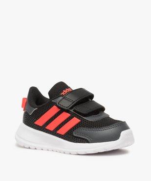 Baskets bébé garçon bi-matières à scratch - Adidas vue2 - ADIDAS - Nikesneakers