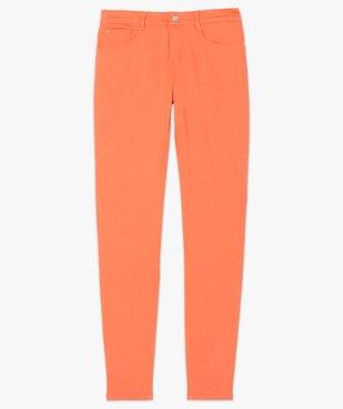 Pantalon femme coupe Slim taille normale - L26 vue4 - GEMO(FEMME PAP) - GEMO