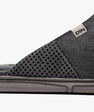 Chaussons homme mules en velours - Dim vue6 - DIM - Nikesneakers