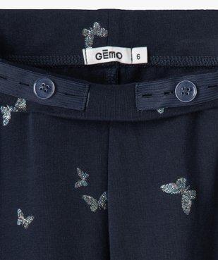 Leggings fille avec motifs pailletés vue2 - Nikesneakers C4G FILLE - Nikesneakers