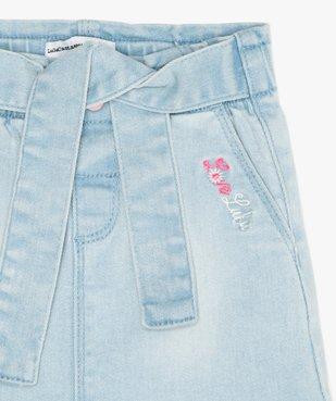 Jupe bébé fille en jean - Lulu Castagnette vue2 - LULUCASTAGNETTE - GEMO