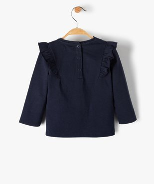 Tee-shirt bébé fille avec motifs pailleté – Lulu Castagnette vue4 - LULUCASTAGNETTE - Nikesneakers