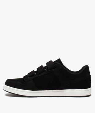 Baskets homme style skateshoes fermeture scratchs vue3 - GEMO (HOMME) - GEMO
