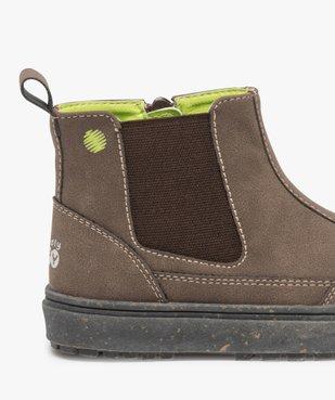 Boots bébé garçon à surpiqûres contrastées – Gepy vue6 - FRIENDLY GEPY - GEMO