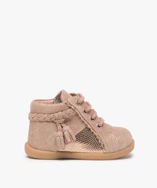 Chaussures premiers pas bébé fille irisées vue1 - Nikesneakers(BEBE DEBT) - Nikesneakers
