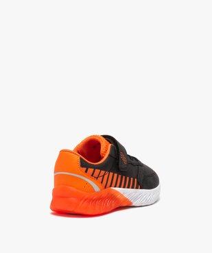 Baskets garçon bicolores à scratch + sac de gym offert vue5 - GEMO (ENFANT) - GEMO
