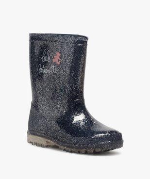 Bottes de pluie fille pailletées – LuluCastagnette vue2 - LULU CASTAGNETT - Nikesneakers
