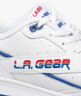 Tennis homme allure rétro à lacets – LA Gear vue6 - L.A. GEAR - GEMO