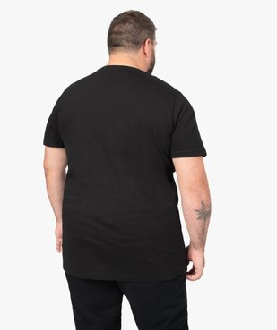 Tee-shirt homme avec motif sur l'avant – Space Invaders vue3 - SPACE INVADERS - GEMO