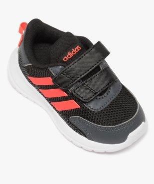Baskets bébé garçon bi-matières à scratch - Adidas vue5 - ADIDAS - Nikesneakers