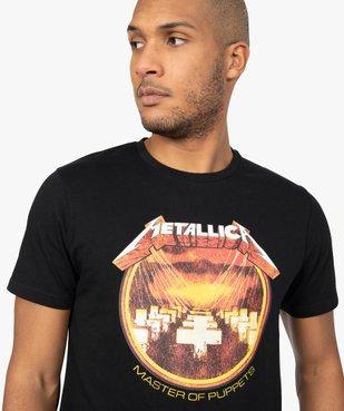 Tee-shirt homme imprimé Metallica vue2 - METALLICA - GEMO