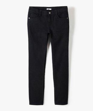 Pantalon garçon style jean slim 5 poches vue1 - GEMO (JUNIOR) - GEMO