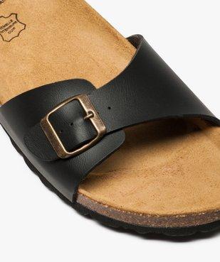 Sandales homme avec large bride à boucle vue6 - GEMO (CASUAL) - GEMO