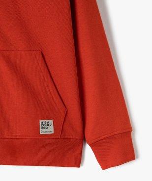 Sweat garçon à capuche avec fermeture zippée vue2 - Nikesneakers (JUNIOR) - Nikesneakers