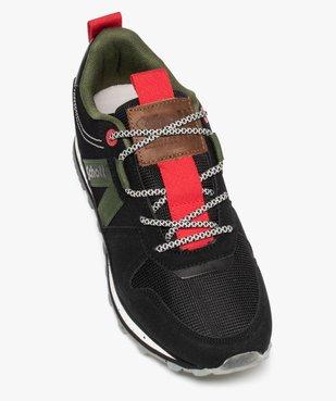 Baskets homme multi-matières – Schott NYC Kurt vue5 - SCHOTT - Nikesneakers