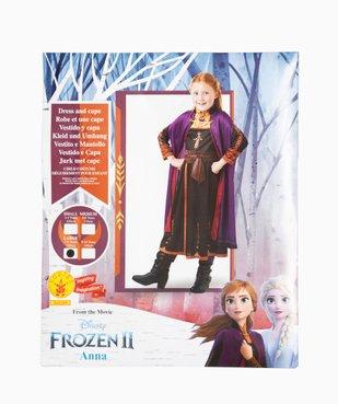 Déguisement fille Anna La Reine des Neiges 2 - Disney vue4 - DISNEY - GEMO