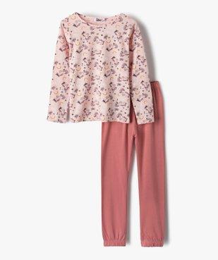 Pyjama fille avec motifs licorne vue1 - GEMO (ENFANT) - GEMO