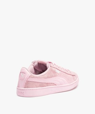 Baskets femme bicolores dessus cuir – Puma Vikky vue4 - PUMA - Nikesneakers