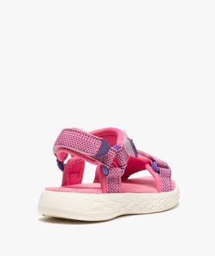 Sandales sport fille extra-légères à scratch vue4 - GEMO (ENFANT) - GEMO