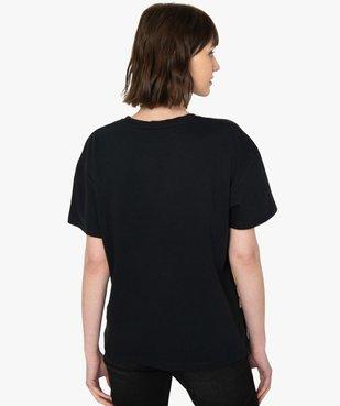 Tee-shirt femme oversize avec motif XXL - Disney vue3 - DISNEY DTR - GEMO