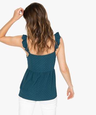 Blouse femme ample à bretelles volantées vue3 - GEMO(FEMME PAP) - GEMO