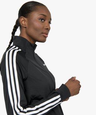 Sweat femme avec fermeture zippée - Adidas vue6 - ADIDAS - GEMO