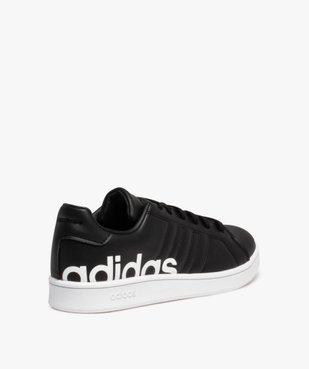 Baskets garçon unies logo – Adidas Grand Court LTS K vue4 - ADIDAS - Nikesneakers