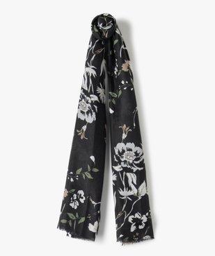 Foulard femme fleuri grand format vue1 - Nikesneakers (ACCESS) - Nikesneakers
