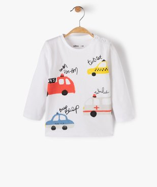 Tee-shirt bébé garçon imprimé fantaisie vue1 - GEMO(BEBE DEBT) - GEMO