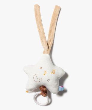 Doudou bébé musical en forme d'étoile – Sucre d'Orge vue1 - SUCRE D'ORGE - GEMO