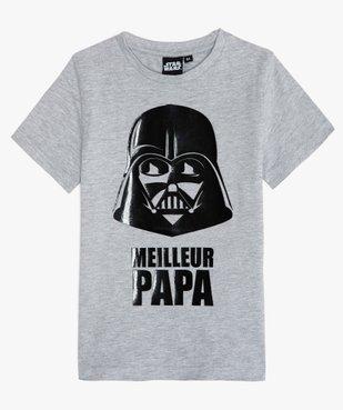 Tee-shirt garçon motif Dark Vador - Star Wars vue1 - STAR WARS - GEMO