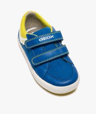 Tennis bébé garçon en toile à scratch - Geox vue5 - GEOX - Nikesneakers