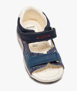 Sandales bébé garçon à scratch, intérieur cuir et - Geox vue5 - GEOX - GEMO