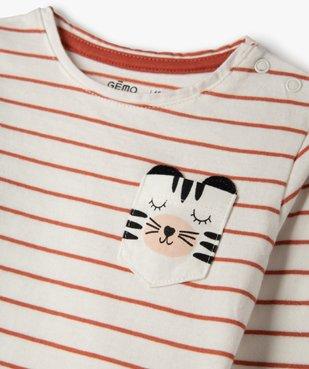 Tee-shirt bébé fille à manches longues (lot de 2) vue3 - Nikesneakers(BEBE DEBT) - Nikesneakers