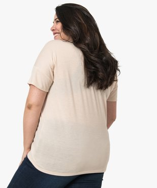 Tee-shirt femme loose à manches courtes et imprimé vue3 - Nikesneakers (G TAILLE) - Nikesneakers