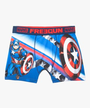 Boxer homme imprimé Marvel Captain America - Freegun vue1 - FREEGUN - GEMO