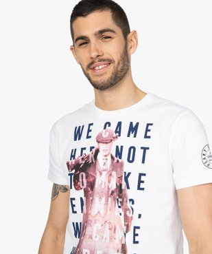 Tee-shirt homme avec motif XXL – Peaky Blinders vue2 - PEAKY BLINDERS - GEMO