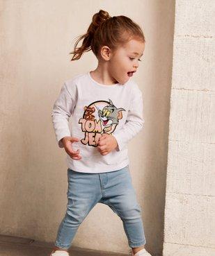 Tee-shirt bébé fille à manches longues - Tom & Jerry vue6 - TOM ET JERRY - GEMO