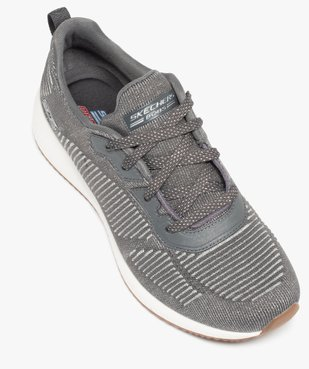 Tennis femme à lacets extra légères en mesh – Skechers Bobs vue5 - SKECHERS - Nikesneakers