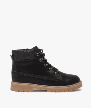 Boots fille avec col fantaisie et semelle crantée vue1 - Nikesneakers (ENFANT) - Nikesneakers