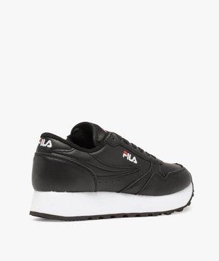 Chaussures de running femme avec épaisse semelle - Fila vue4 - FILA - GEMO