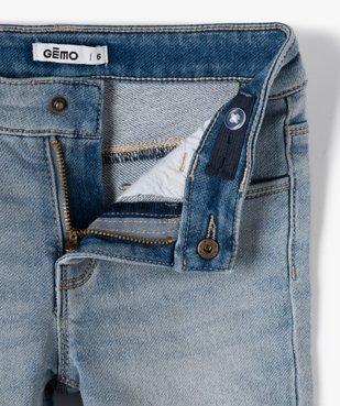 Bermuda fille en jean extensible vue2 - GEMO (ENFANT) - GEMO