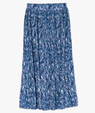 Jupe femme longue plissée à motifs vue4 - GEMO(FEMME PAP) - GEMO
