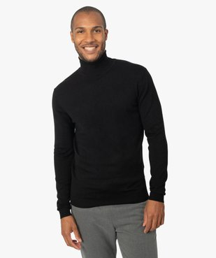 Pull homme à col roulé en maille fine vue1 - Nikesneakers (HOMME) - Nikesneakers