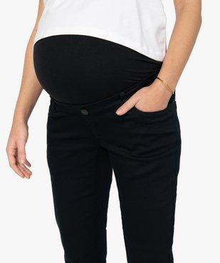 Jean de grossesse coupe slim avec bandeau élastiqué vue2 - GEMO (MATER) - GEMO