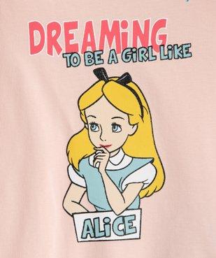 Pyjashort fille avec motif Alice au pays des merveilles - Disney vue2 - DISNEY DTR - GEMO