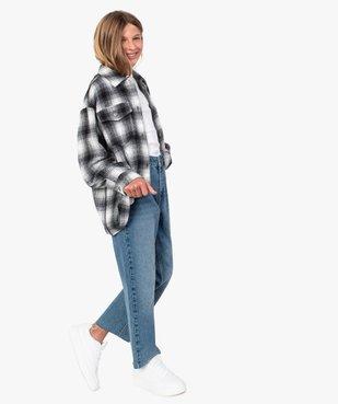 Veste fille façon chemise à carreaux vue5 - GEMO (ENFANT) - GEMO