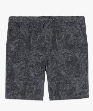 Bermuda homme motif feuillage tropical vue4 - Nikesneakers (HOMME) - Nikesneakers