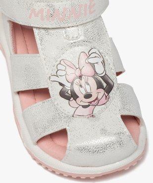 Sandales bébé fille tout terrain à scratch - Minnie vue6 - MINNIE - GEMO